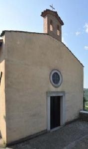 chiesa di poggio aquilone facciata